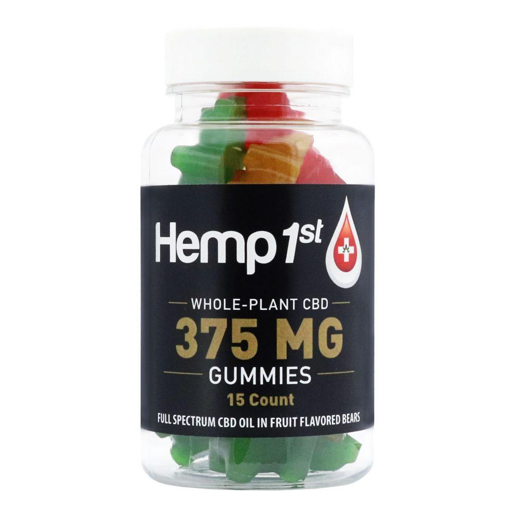 375mg CBD Fruit Gummies
